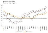 El IPC cierra 2010 en el 3%