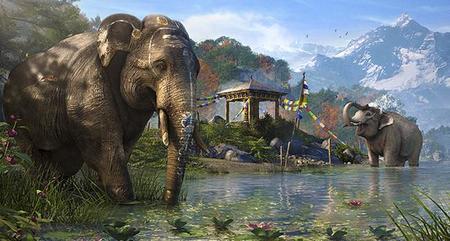 Al rico elefante explosivo en 'Far Cry 4'