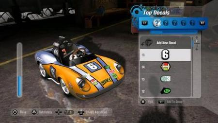 'ModNation Racers', nuevas imágenes del 'LittleBigPlanet' de conducción
