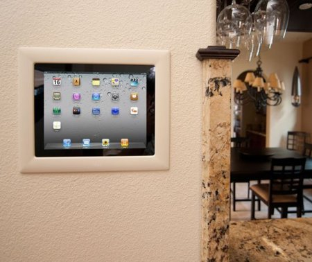 iPort, montaje en pared de iPad e iPod Touch