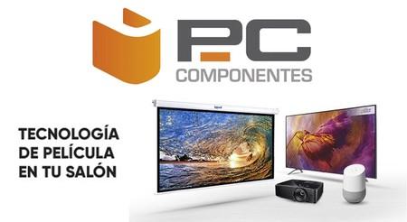 Las mejores ofertas en PcComponentes en smart TVs de Samsung y LG y proyectores Optoma