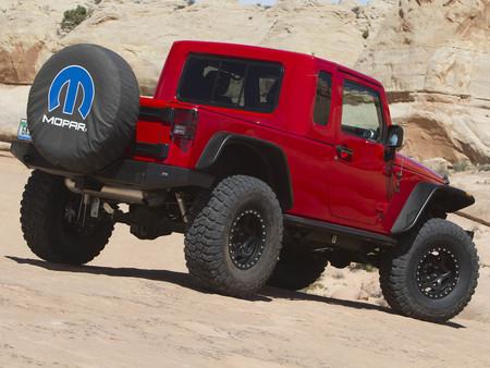 Mopar Jeep Wrangler Jk 8 Concept