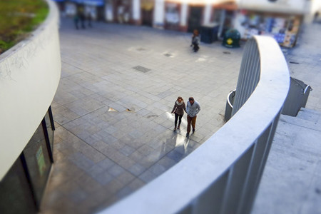 Fujifilm XQ1 efecto miniatura