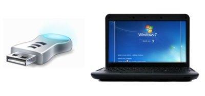 Cómo crear una unidad USB de recuperación de Windows 7 para netbooks