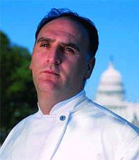 José Andrés, entre las personas más poderosas de Washington D.C.