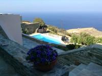 Puertas abiertas: un refugio familiar con encanto en Andros