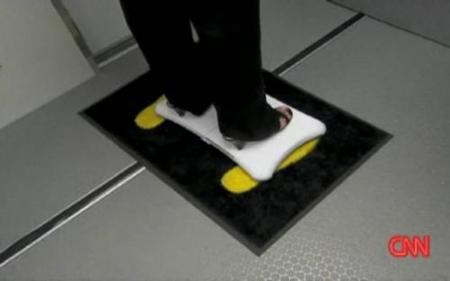 WiiFit como elemento de seguridad en los aeropuertos