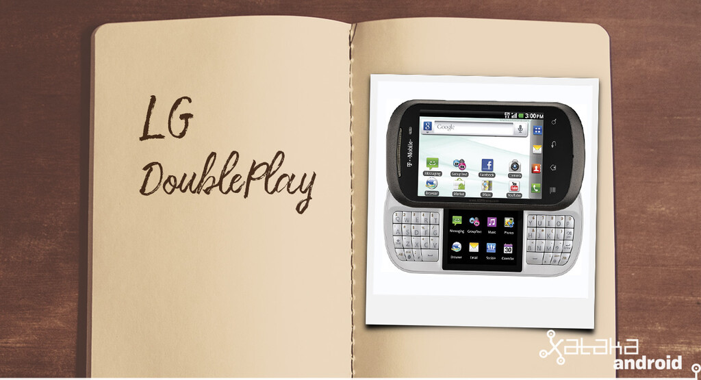 Móviles con los que flipaste en su día: LG DoublePlay