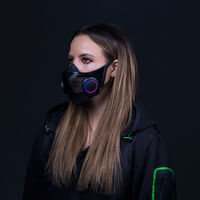 Así es Project Hazel, la mascarilla de Razer reutilizable, transparente, con luces RGB, micrófono y altavoz