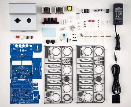 amplificador montable en kit