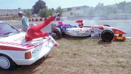Inoue F1 Hungria 1995