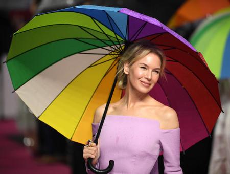 Renée Zellweger luce el perfecto vestido de invitada