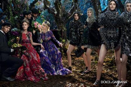 Dolce & Gabbana se disputa el Trono de Hierro en su campaña para el otoño-invierno 2014/2015