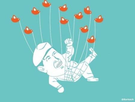 Hugo Chávez es desde hoy @ChavezCandanga en Twitter