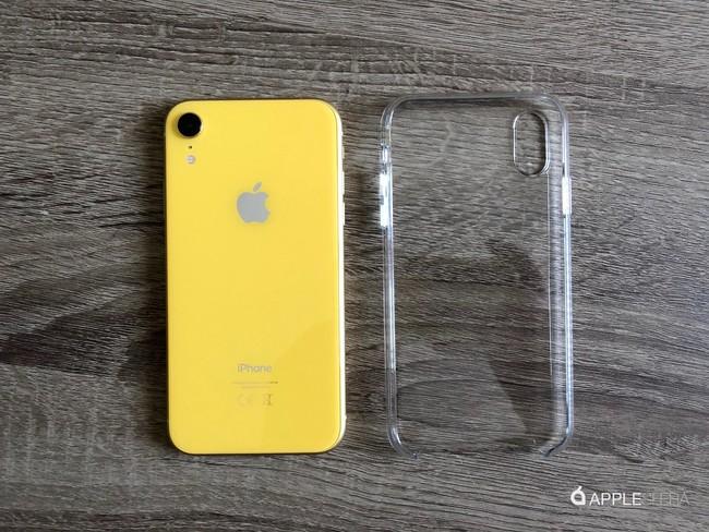 Funda transparente para iPhone XR: una gran opción para el terminal más colorido de Apple