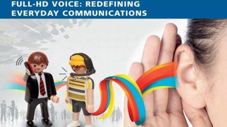 Full-HD Voice, sonido con calidad CD para nuestras conversaciones telefónicas desde móviles