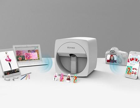 impresora manicura uñas movil