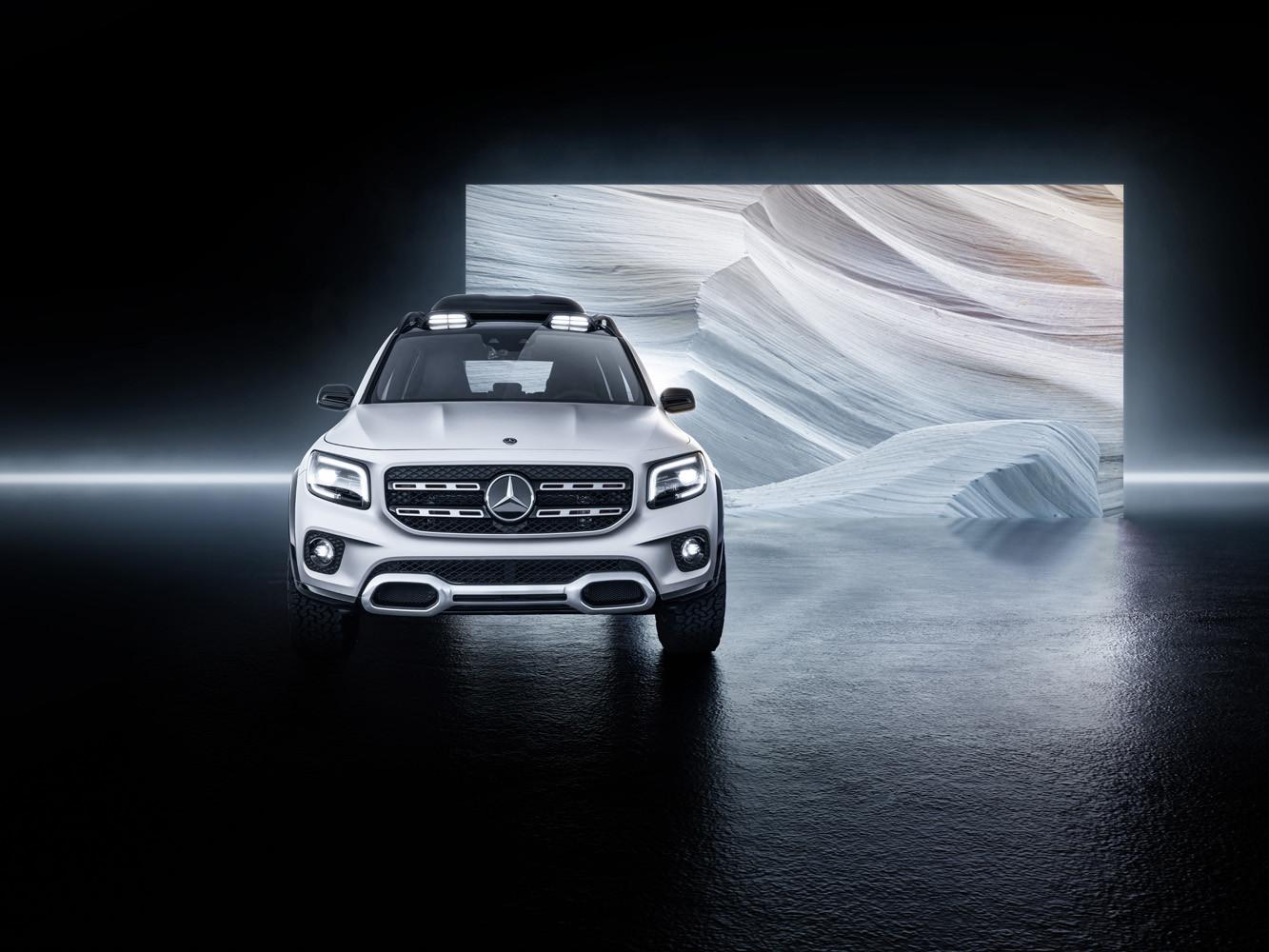 Foto de Mercedes-Benz GLB Concept (17/26)