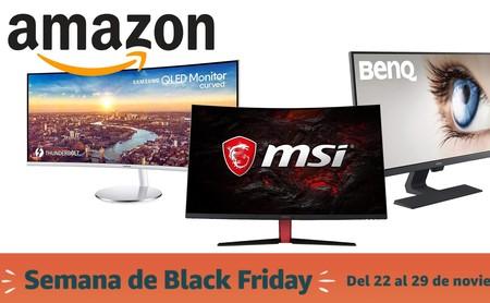 Black Friday 2019: las mejores ofertas en monitores para PC en Amazon