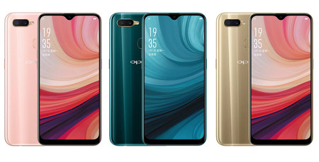 Oppo A7 Colores
