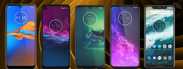 Motorola Moto G8 Plus, E6 Play, and One Macro, so they fit within the complete catalog of smartphones Motorola in 2019