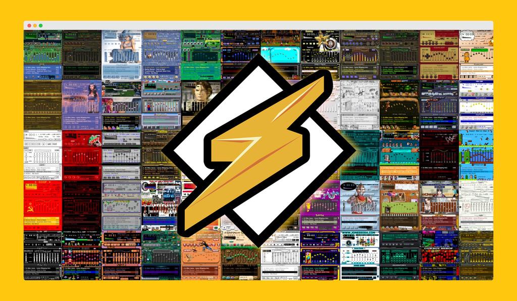 No hay mejor ni mayor homenaje a Winamp que esta web con 65.000 skins