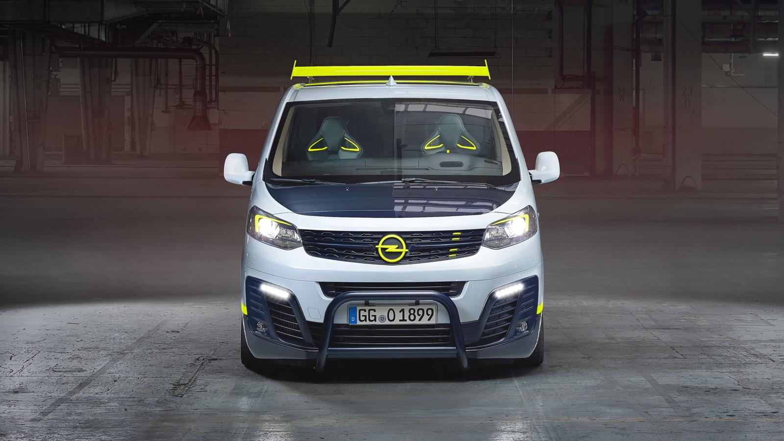 Foto de Opel Zafira Life O-Team (3/10)