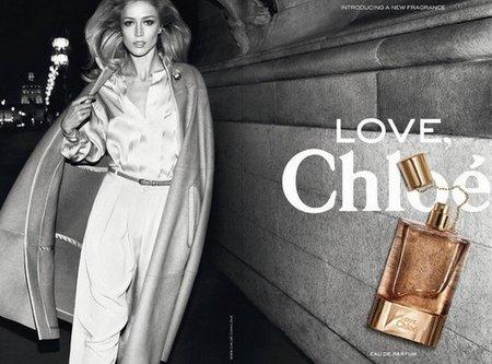 Raquel Zimmermann es la nueva imagen del perfume 'Love' de Chloé