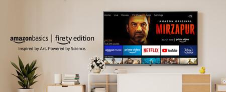 Amazon lanza sus propias teles en India: LCD-LED 4K de 50 y 55 pulgadas, Dolby Vision y Alexa a partir de 410 dólares