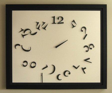 Un reloj deconstruido