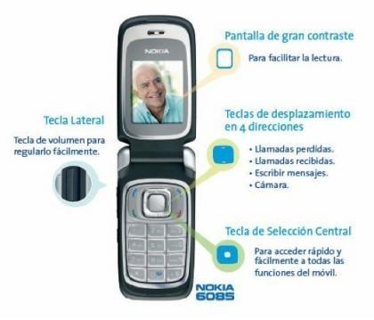 Nokia 6085, nuevo Movistar Fácil