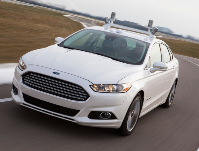 Ford Fusion Autonomous Self Driving Car