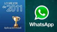 Mejor aplicación móvil de 2011: Whatsapp