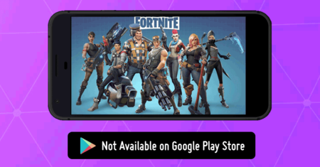 Fortnite, no disponible en Google Play Store