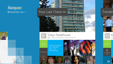 Foursquare trae su aplicación oficial a Windows 8/RT