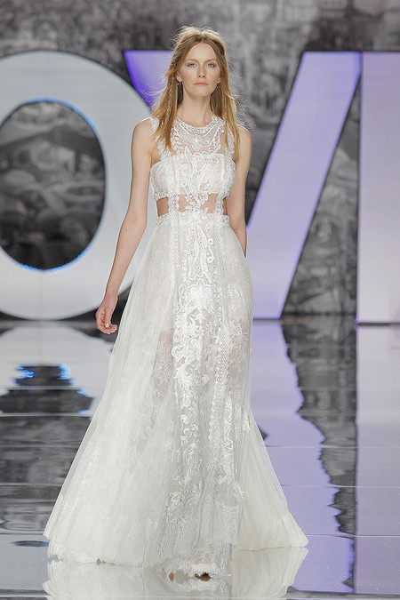 Vestidos Novia Boho Nueva Coleccion Tendencias 2018 Barcelona Bridal Week 22