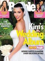 ¡Ya estaba tardando! Toma exclusiva de la boda de Kim Kardashian