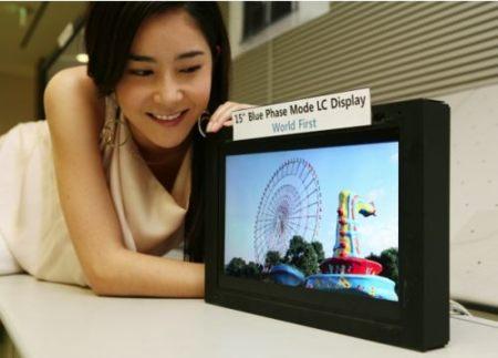 Tecnología Blue Phase para las pantallas LCD de Samsung
