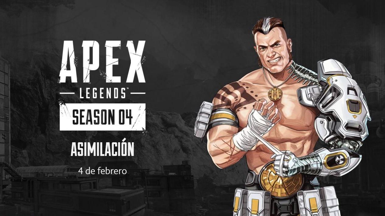 Apex Legends celebra su primer aniversario con el inicio de la Temporada 4 y un nuevo personaje jugable