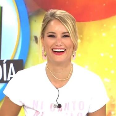"""Alba Carrillo juega al Nintendogs en el trabajo: """"¡Ataca a Miguel Frigenti, Fresh!"""""""