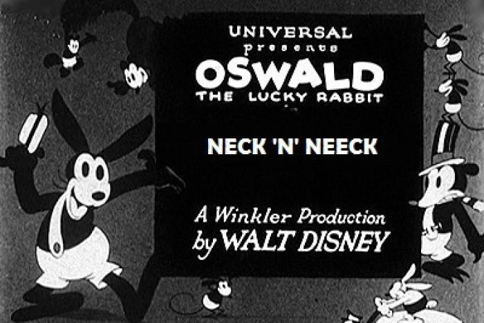 Discovered in Japan, a lost film from Disney starring the rabbit Oswald, the predecessor of Mickey Mouse