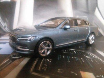 """La filtración del Volvo S90 a través de una miniatura a escala, culpa de un empleado """"con la mano larga"""""""