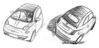 Fiat 500C, primeros bocetos oficiales y fecha de presentación