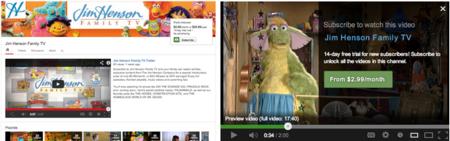 Youtube estrena canales de pago