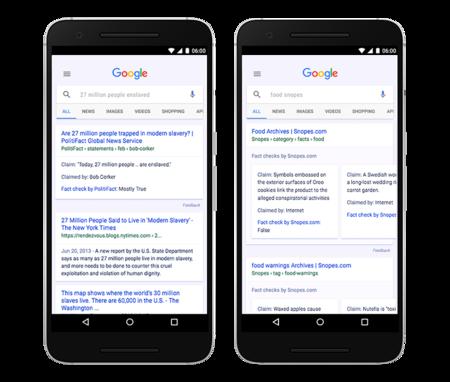 Google Fack Check
