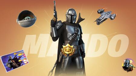 El Mandaloriano y Baby Yoda llegan a Fortnite: aquí tenéis el vídeo de la Temporada 5 y las novedades del mapa y el Pase de Batalla