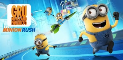 Minion Rush, el juego oficial de 'Gru, Mi Villano Favorito' ya disponible en Google Play