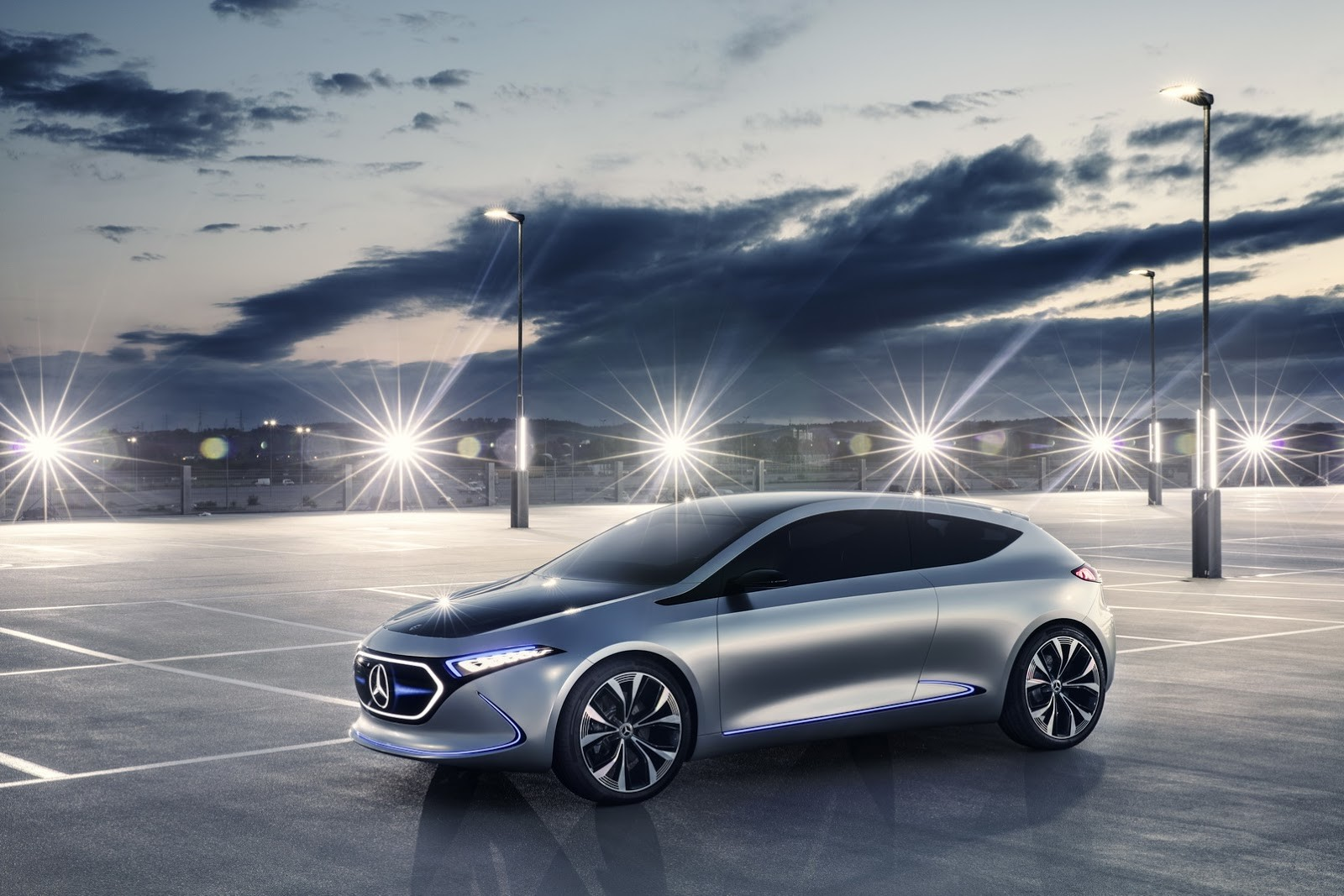 Foto de Mercedes-Benz EQ A Concept (12/15)