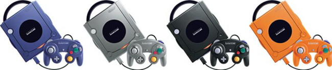 Game Cube All Colors