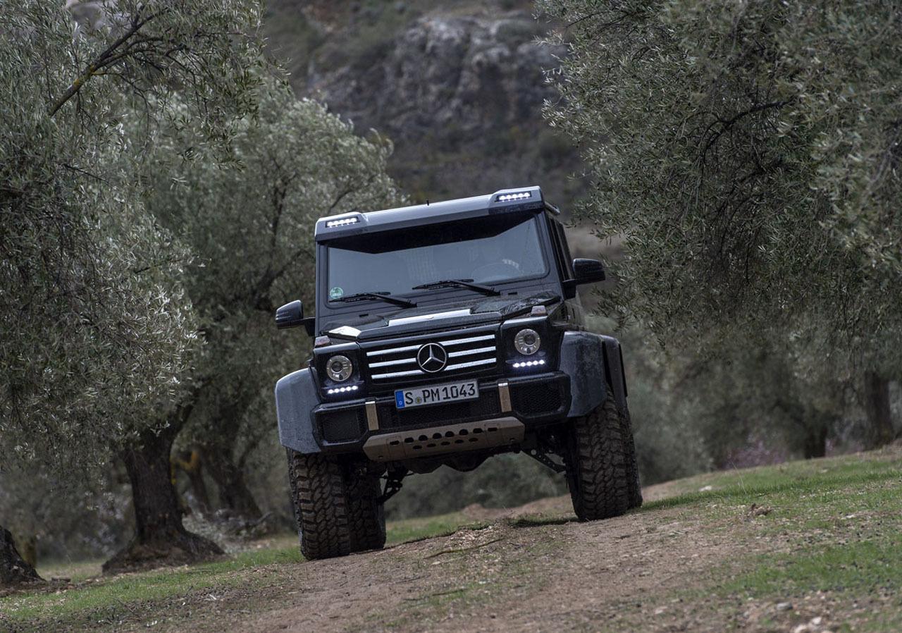 Foto de Mercedes-Benz G 500 4x4², toma de contacto (71/127)